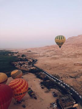Voo de Balão - Egito 2018