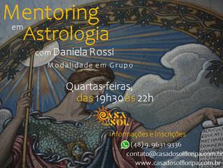 Novidade na Casa do Sol: Inscrições abertas para Mentoring em Astrologia, modalidade em Grupo!