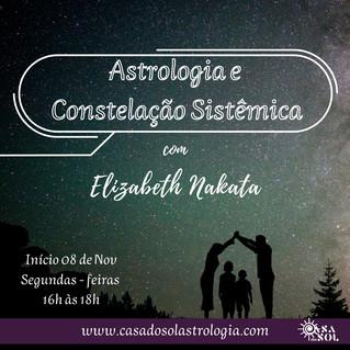 ASTROLOGIA E CONSTELAÇÃO SISTÊMICA COM ELIZABETH NAKATA