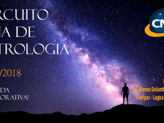 Vem aí o XIII Circuito CNA de Astrologia!