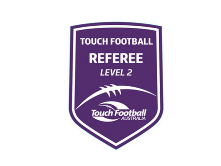 Level 2 Referee Course - QLD Touch Football, 19/06/2021