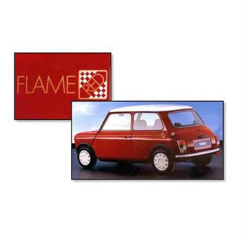 SET COMPLETO ADESIVI MINI FLAME RED