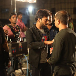 Discussion scenes with DOP #bts #directo