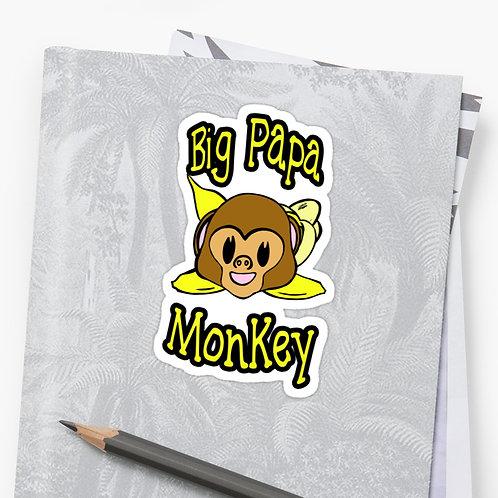 Big Papa Monkey Sticker