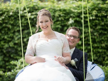 Mit dem Hochzeitstraktor zum Traualtar