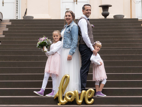 Familienhochzeit auf Schloss Freudenberg