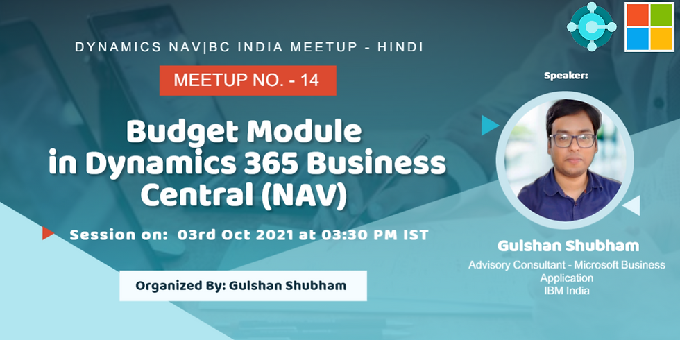 Budget Module in Dynamics 365 Business Central (NAV)
