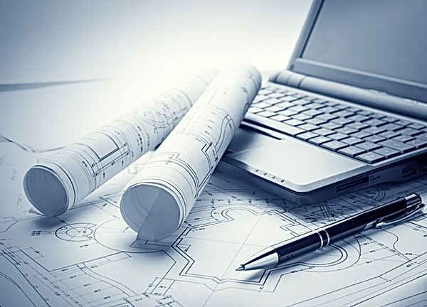 Blueprints and laptop.jpg