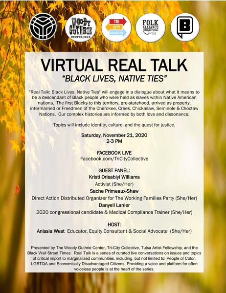 Black Lives, Native Ties