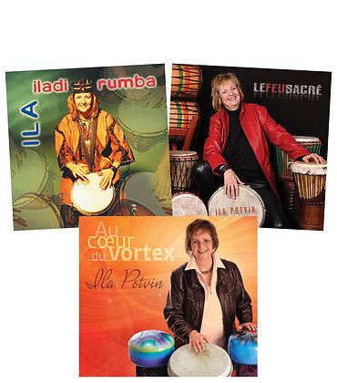Les 3 CD