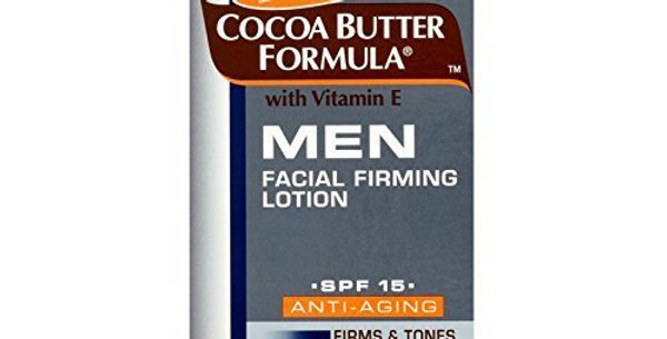 Palmers for Men Cocoa Butter Formula - Facial Firming Lotion with Vitamin E