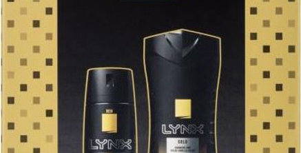 Lynx Gold Duo Gift Pack