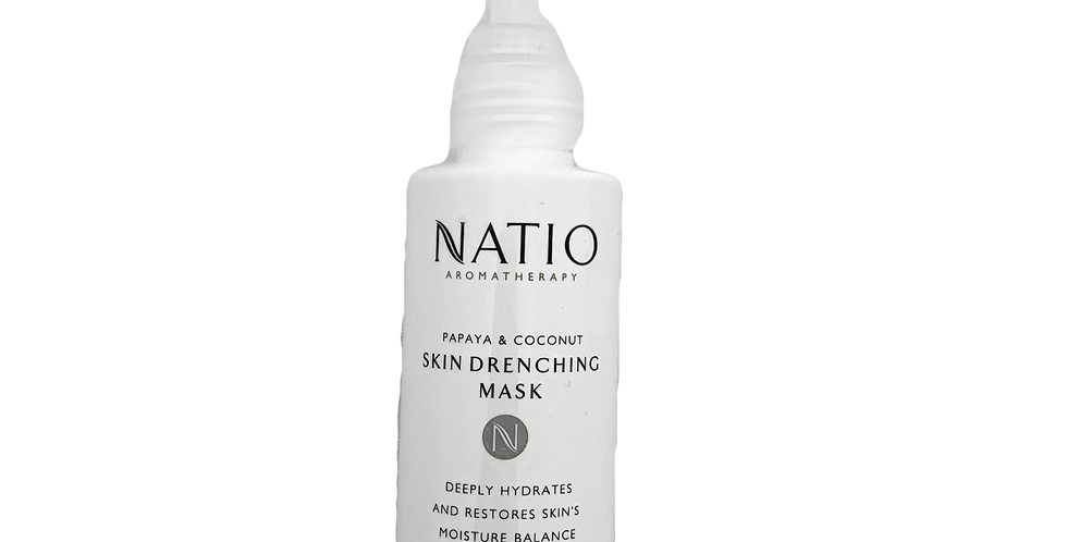 Natio Skin Drenching Mask - Papaya & Coconut (Faulty Pump)