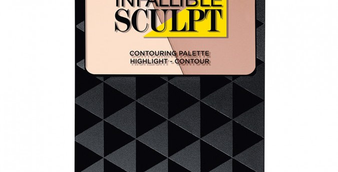 L'ORÉAL PARIS Infallible Sculpt Palette 01 Light 10g