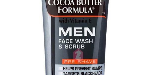 Palmers for Men Cocoa Butter Formula - Face Wash & Scrub with Vitamin E