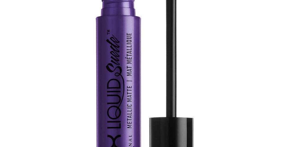 NYX Liquid Suede Lip Cream Metallic  -  #36  EGO