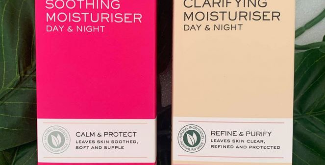 Model Co Clarifying & Soothing Moisturiser Duo