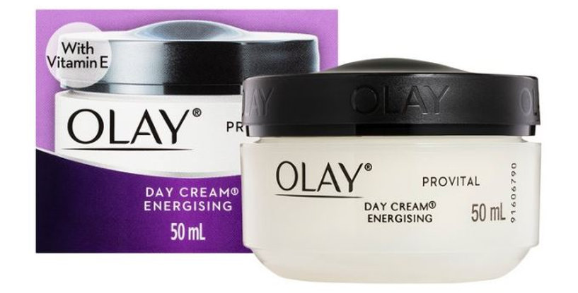 OLAY Provital Day Cream Energising with Vitamin E    50ml