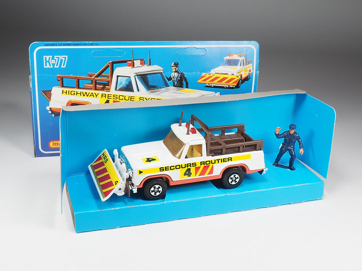 MATCHBOX SUPER KINGS - K77 - HIGHWAY RESCUE - FRENCH VERSION