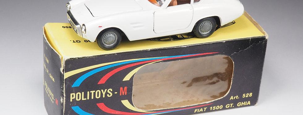 POLITOYS - 528 - FIAT 1500 GT GHIA - 1/43e