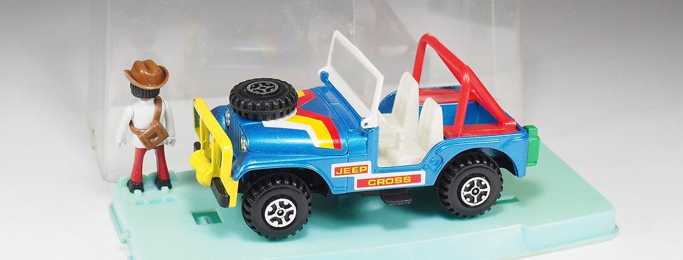 GUISVAL - 5027 - Jeep Cross Avec personnage - En boite - Espagne