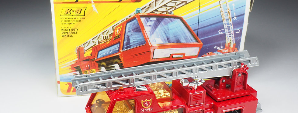 MATCHBOX SUPER KINGS - K9 - FIRE TENDER