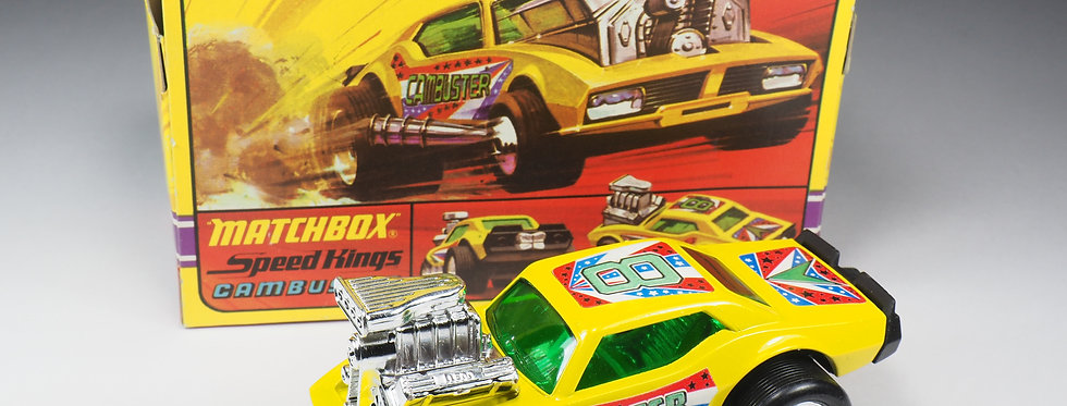 MATCHBOX SPEED KINGS - K43 - CAMBUSTER - GREEN WINDOWS