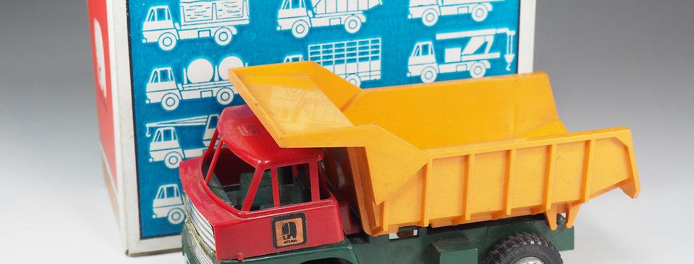 SITAP - MINI TRUCK - Henschel Camion Benne basculante - En boite - 14cm
