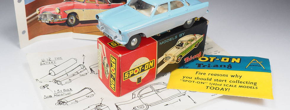 SPOT-ON - 100SL - FORD ZODIAC - WITH LIGHTS - 1/43