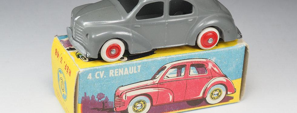 CIJ - 3/48 - RENAULT 4CV - 1/43e