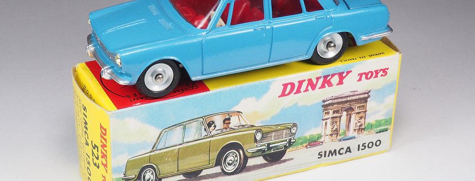 DINKY TOYS FRANCE - 523 - SIMCA 1500 - BLEU DUR
