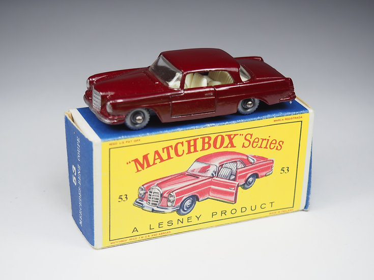 MATCHBOX - 53b - MERCEDES BENZ 220SE