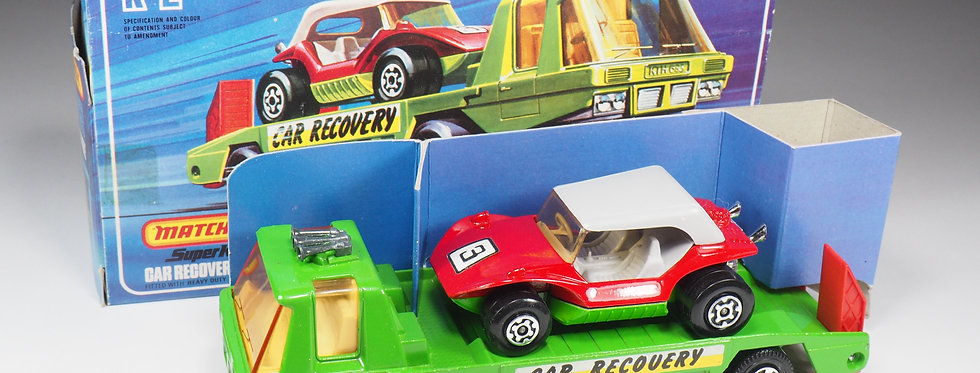 MATCHBOX SUPER KINGS - K2 - CAR RECOVERY VEHICLE WITH BUGGY