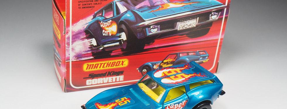 MATCHBOX SPEED KINGS - K55 - CORVETTE CAPER CART