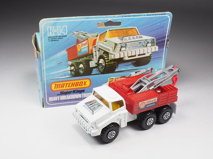 MATCHBOX SUPER KINGS - K14 - BREAKDOWN TRUCK
