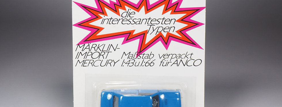 MERCURY / MARKLIN - 22 - FIAT 128 BERLINA - IMPORT CARD