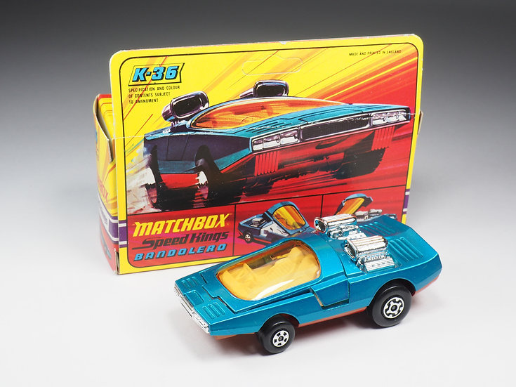 MATCHBOX SPEED KINGS - K36 - BANDOLERO