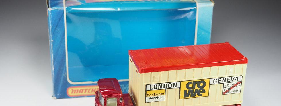 MATCHBOX - Super Kings - K-24 - Scammel Container Truck «Crowe» - En boite