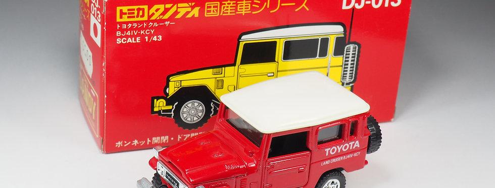TOMICA DANDY - DJ-013 / N°13 - Toyota Land Cruiser - En boite