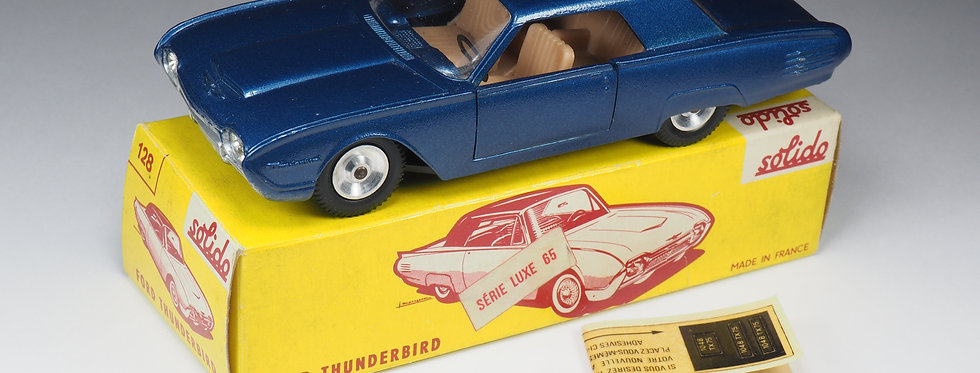 SOLIDO - 128 - FORD THUNDERBIRD COUPE - 1/43e