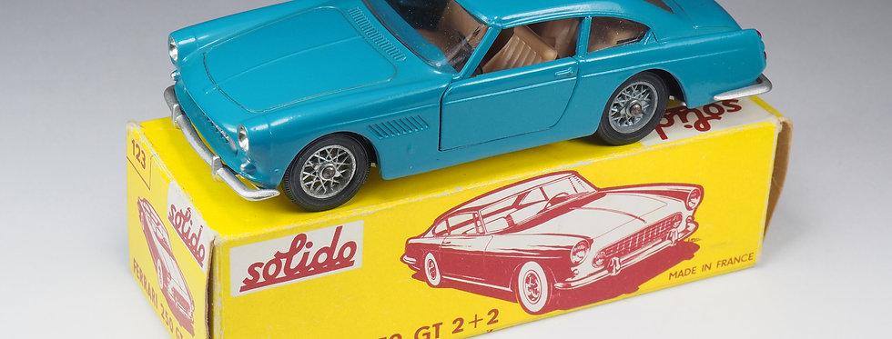 SOLIDO - 123 - FERRARI 250 GT 2+2 - SERIE LUXE - 1/43e