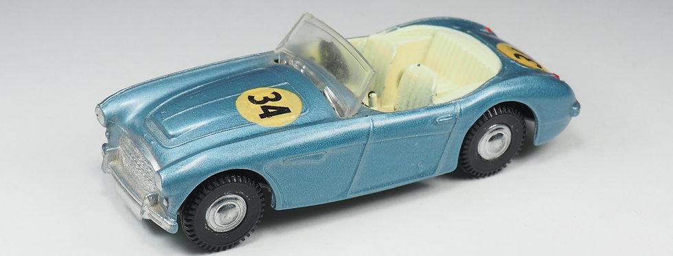 SPOT-ON - 105 - Austin Healey 100-Six - Bleu métallisé