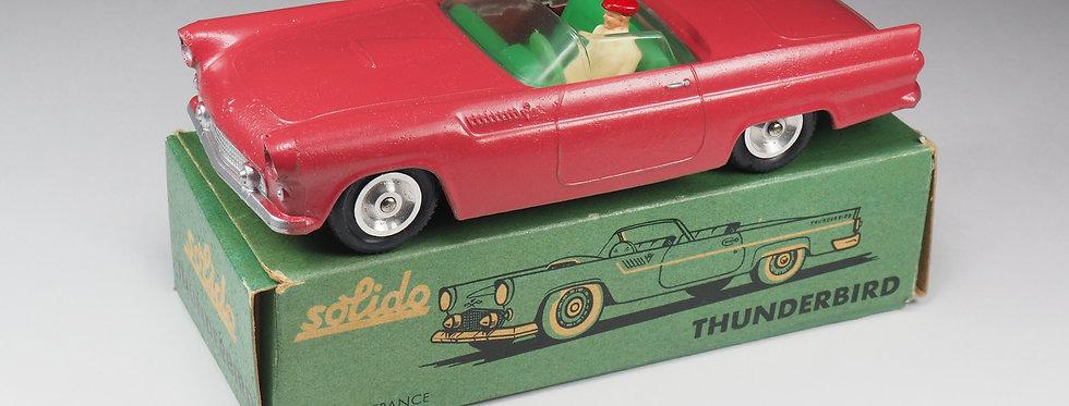SOLIDO - 113  - FORD THUNDERBIRD - 1/43e