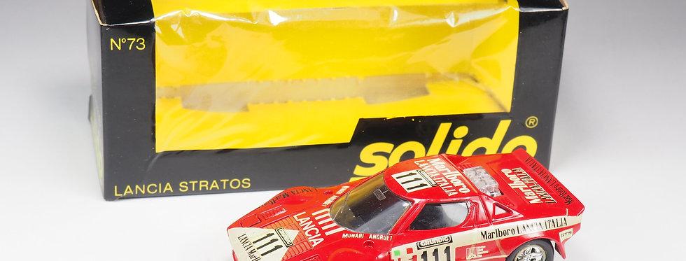 SOLIDO - 73 - Lancia Stratos - En boite