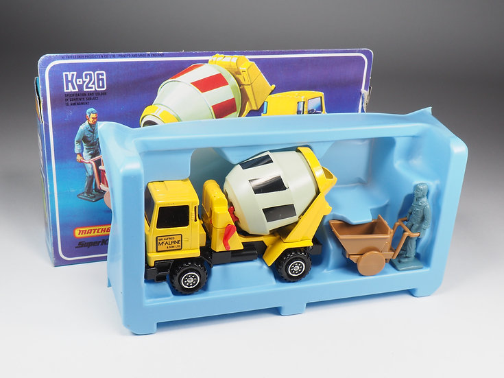 MATCHBOX SUPER KINGS - K26 - BEDFORD READY MIX CONCRETE TRUCK