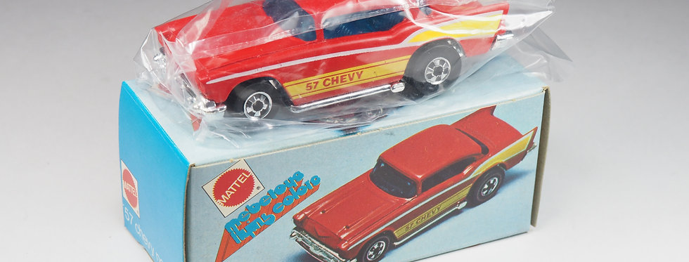 MEBETOYS HOT WHEELS - FLYING COLORS - 9211 - 57 CHEVY - 1/64
