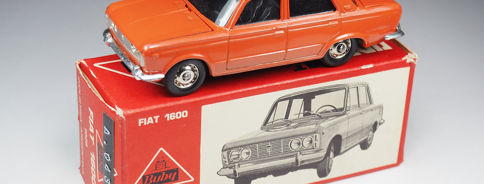 BUBY ARGENTINE - 1028 - FIAT 1600 - FEUX STRASS - 1/43