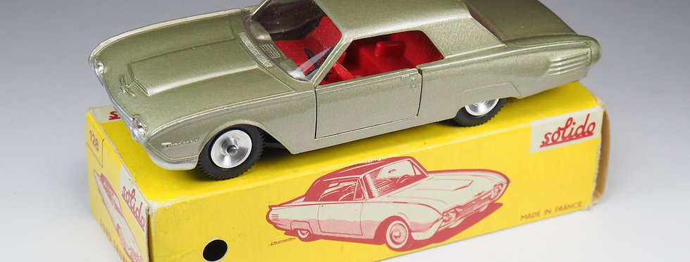 SOLIDO - 128 - FORD THUNDERBIRD - CHAMPAGNE - 1/43