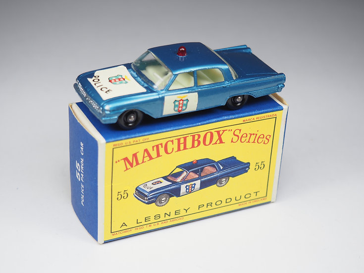 MATCHBOX - 55b - FORD FAIRLANE POLICE CAR