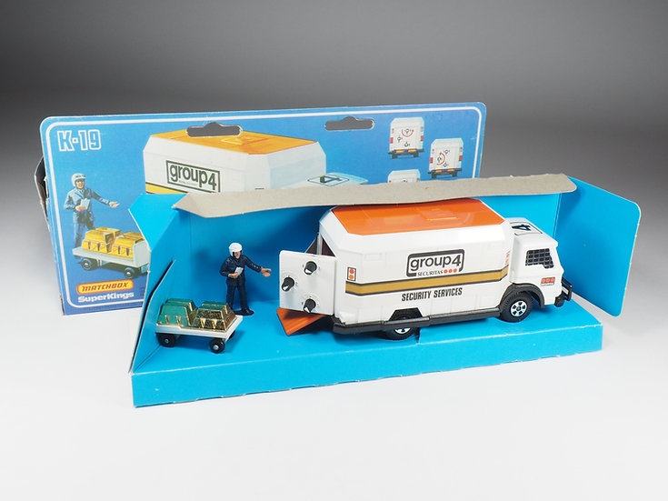 MATCHBOX SUPER KINGS - K19 - SECURITY TRUCK
